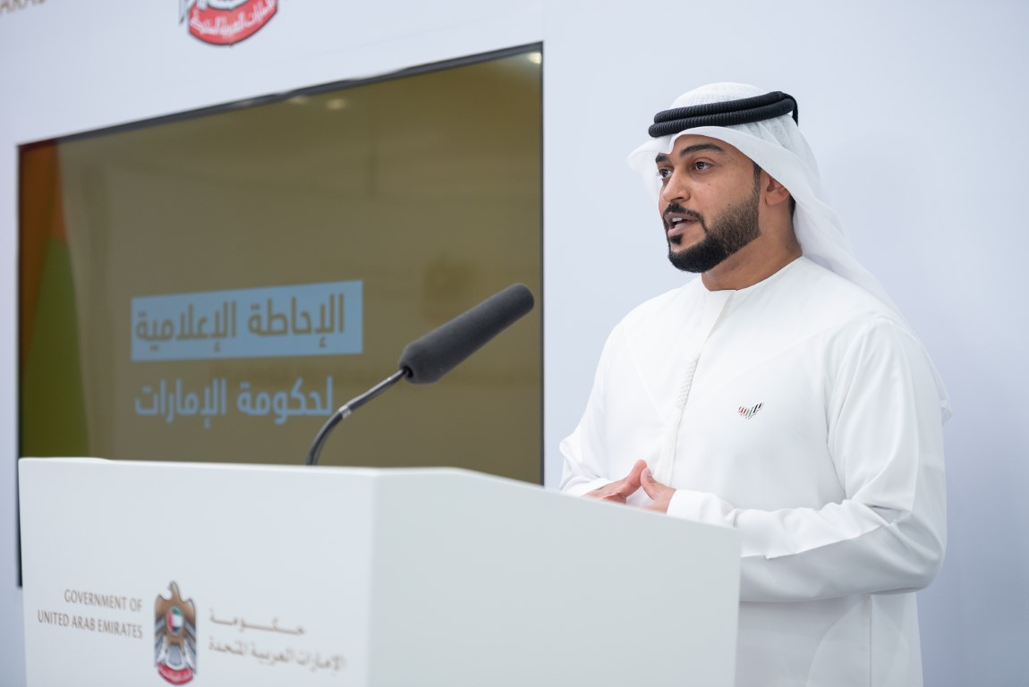 During UAE Government's regular media briefing on COVID-19: Fines, administrative penalties remain in place against violators